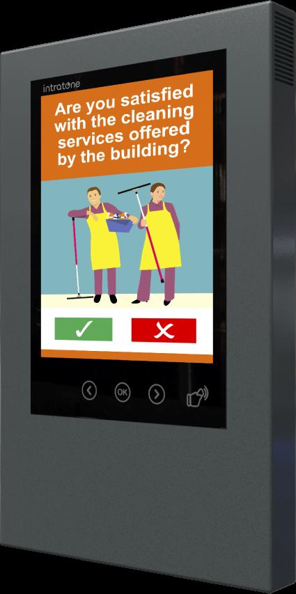 Intratones brand-new Interactive Digital Noticeboard